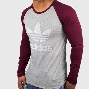 NEW adidas trefoil Essentials Long sleeve Large